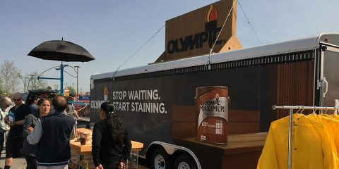 OLYMPIC® Paints & Stains Truck Tour