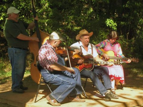 Old-Time Musicians at the Pickin' Party
