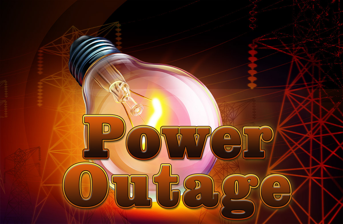 power outage Outage central if your electricity is out, report it using the link below, or by calling 8005721131 we'll restore power as quickly and safely as possible.