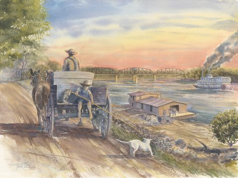 River Days by Frank Lott