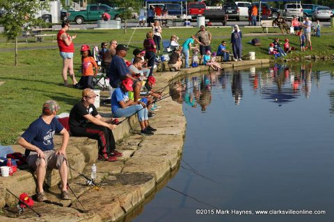 TWRA and City of Clarksville Parks & Recreation's Annual Youth Fishing Rodeo is being held Saturday, June 9th at the Liberty Park Pond.