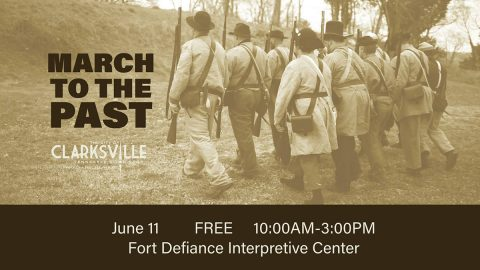 Annual March to the Past event at Fort Defiance Civil War Park.