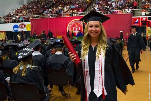 170 Austin Peay State University's student-athletes received aSpring Semester Academic Recognition. APSU Women's Golf's Jessica Cathey pictured above made the President's list. (APSU Sports Information)