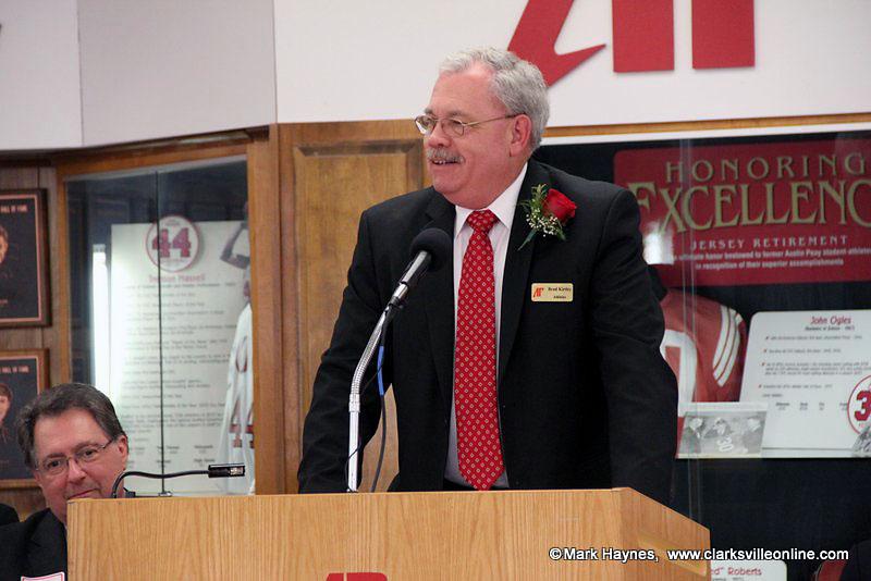 APSU Sports Information Director Brad Kirtley.