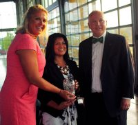 Cheryl Moss - Clarksville Young Professional award