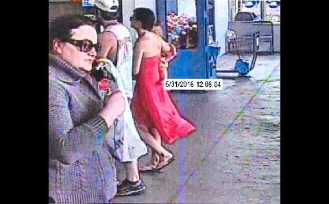 Clarksville Police are looking to identify the burglary suspect on the left in the gray sweater and sunglasses. If anyone can identify the suspect or has any information related to this incident, please call Detective Carlton at 931.648.0656 Ext 5172, or call the CrimeStoppers TIPS Hotline at 931.645.TIPS (8477).