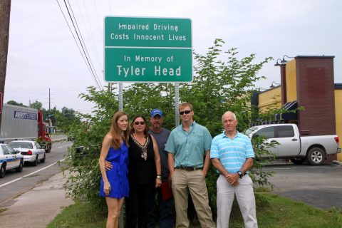 Tyler Head Family and Sign