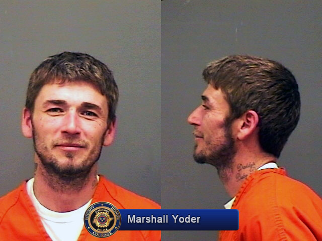 Clarksville Police want Marshall Yoder for Multiple Felonies