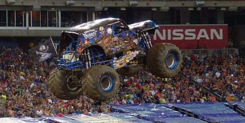 Son-Uva Digger dominated the race portion of Monster Jam.