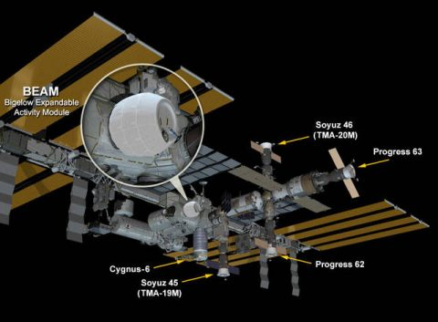 Bigelow Expandable Activity Module (BEAM)