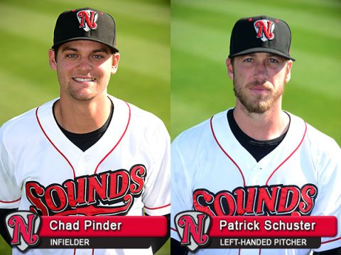 Nashville Sounds' Chad Pinder Named All-Star for Second Time in Career; Patrick Schuster for the First Time.