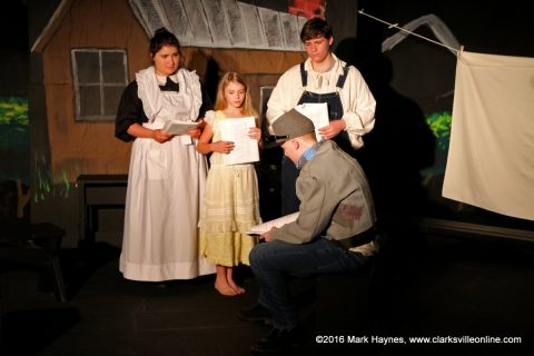 """Grace Among the Leavings"" at the Roxy Regional Theatre."