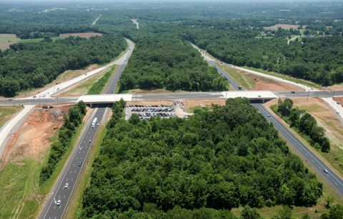 Tennessee Department of Transportation I-24/SR 237 Project completed.