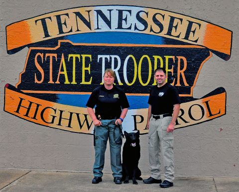Tennessee Highway Patrol receives New Donated Patrol Dog