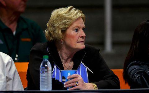 Tennessee Lady Volunteers head coach emeritus Pat Summitt. (Randy Sartin-USA TODAY Sports)