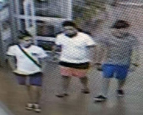 Clarksville Police are trying to identify the persons in this photo in connection to a theft at Walmart. If anyone can identify the suspects or has any information related to this incident, please call Detective Gillespie at 931.648.0656 Ext 5234, or call the CrimeStoppers TIPS Hotline at 931.645.TIPS (8477).
