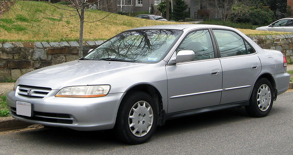 The 2002 Honda Accord is one of the vehicles needing air bag inflator repair.