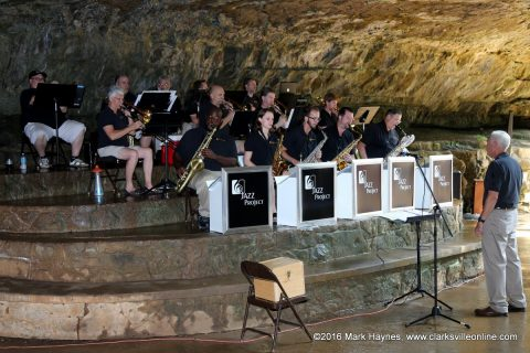 Cumberland Winds Jazz Project playing Saturday at Cooling at the Cave.