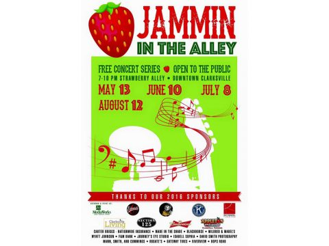 2016 Jammin in the Alley