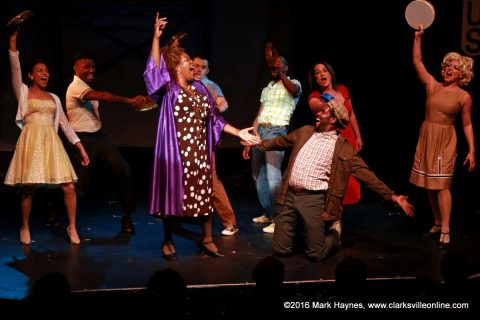 """""""Smokey Joe's Cafe"""" at the Roxy Regional Theatre runs from now through August 20th."""