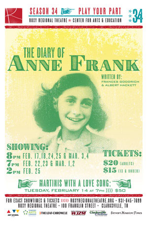 2016 The Diary of Anne Frank