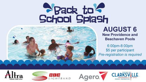 4th annual Back to School Splash