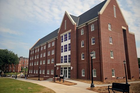 Austin Peay State University Eriksson Hall dormitory. (APSU)