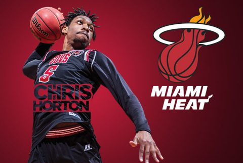 Former APSU Basketball great Chris Horton heads to Orlando and Las Vegas as part of Miami Heat's summer league roster