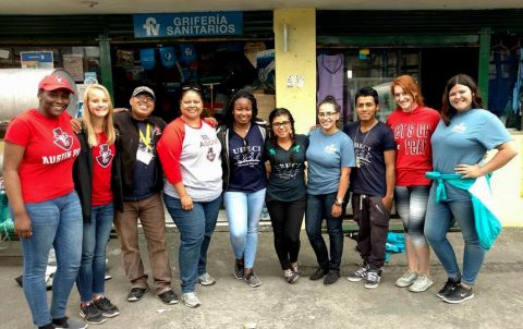 Austin Peay Students travel to Ecuador to do volunteer work.