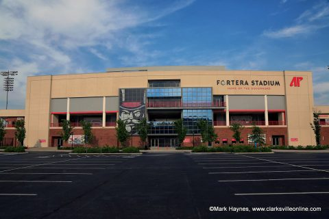 APSU Football kicks off season at Fortera Stadium against North Carolina Central, August 29th.