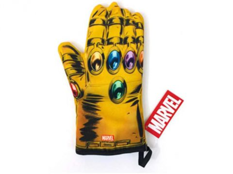 Marvel Thanos Infinity Gauntlet oven mitt recalled due to Burn Hazard.