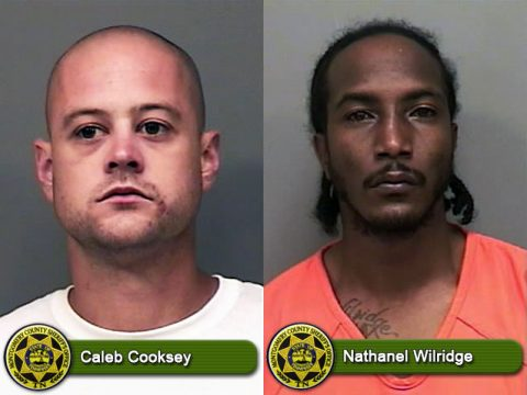 Pictured (L to R): Caleb Cooksey and Nathanel Wilridge.