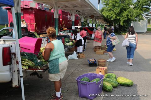 The Clarksville Farmers Market at L & N Train Station is open Tuesday, Thursday and Saturday.