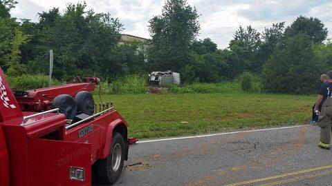 Rollover Crash on Jack Miller Boulevard