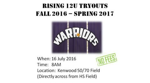 Clarksville Travel Ball team tryouts this Saturday, July 16th