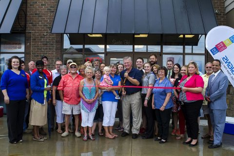 FASTSIGNS® of Clarksville Re-Grand Opening Ribbon Cutting Ceremony.