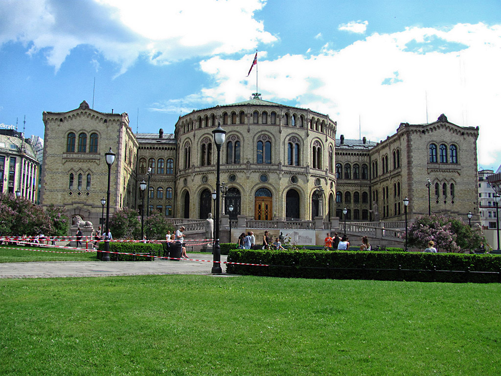 Parliament in Oslo, Norway. (Shawn Hogan)
