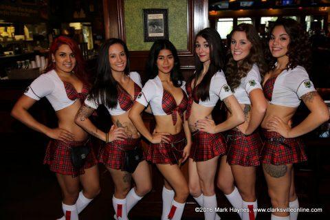 The Tilted Kilt Girls.