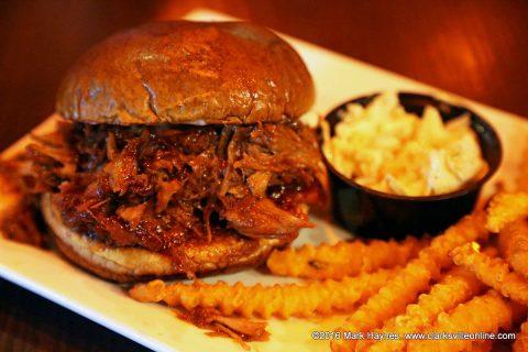 Wicked Boston Pulled Pork Sandwich