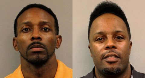 (L to R) Clinton Lewis and Andre Trice indicted for theft.