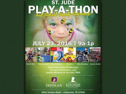 Daymar College to host St. Jude Play-A-Thon on July 23rd