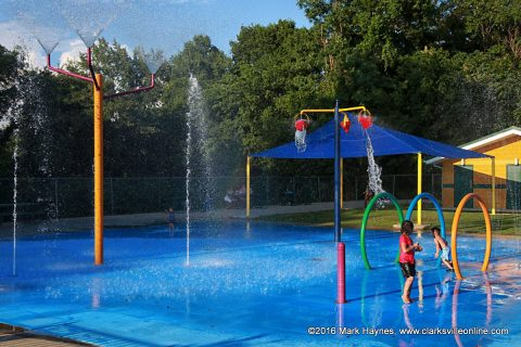 Edith Pettus Park Splash Pad temporarily closed.