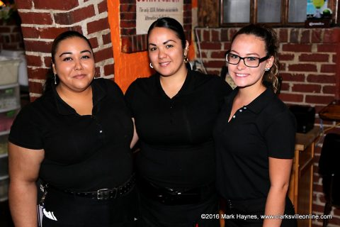 Waitresses at El Toro.