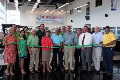 Jenkins and Wynne Green Ribbon Cutting Ceremony.