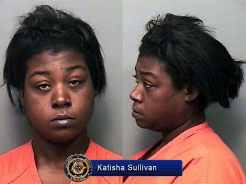 Katisha Sullivan arrested by Clarksville Police for Criminal Homicide.