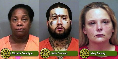 Michelle Sudduth Francique, Aelix Santiago, and Mary Bensley