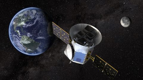TESS will look at the nearest, brightest stars to find planetary candidates that scientists will observe for years to come. (NASA's Goddard Space Flight Center)