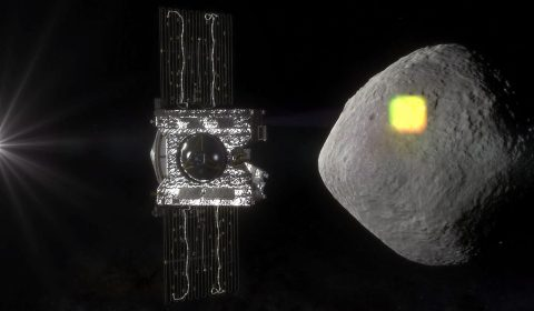 NASA's OSIRIS-REx spacecraft to Map the Surface of an Asteroid. (NASA)
