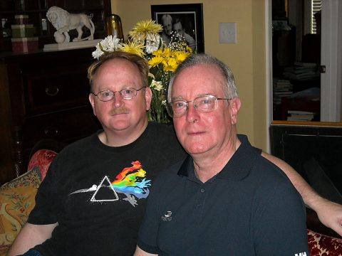 (L to R) Sean Hogan and James Moore. (Sue Freeman Culverhouse)