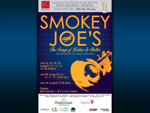 """Smokey Joe's Cafe"" plays at the Roxy Regional Theatre July 22nd - August 20th."
